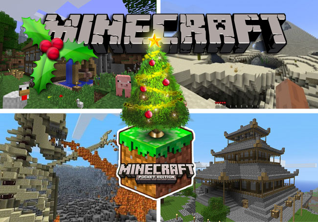 Minecraft christmas day for new1